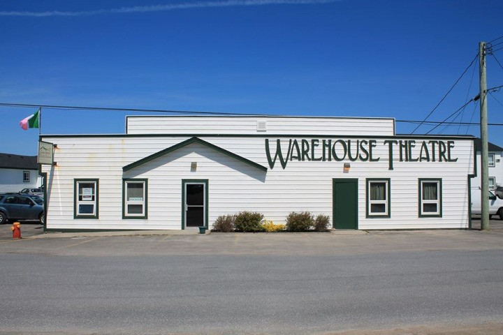 The Warehouse Theatre in Cow Head.