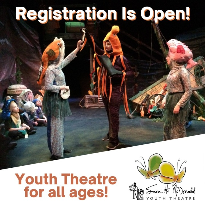 Youth Theatre Fall Registration 2021