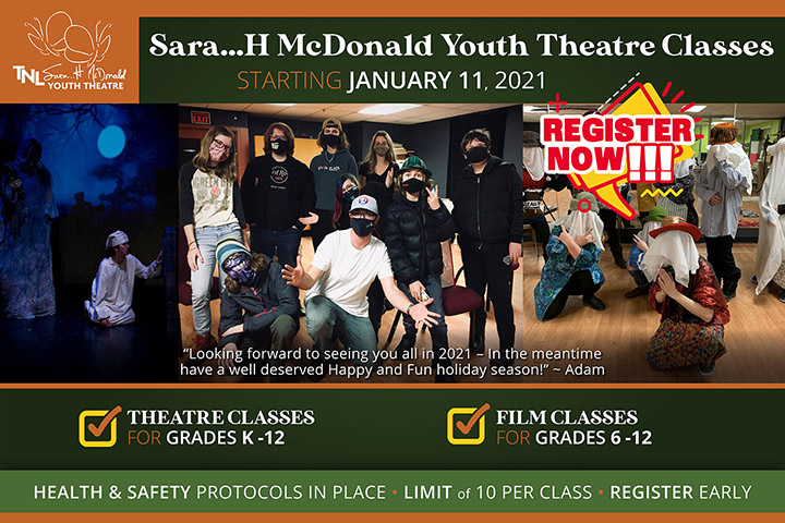 Youth Theatre Classes 2021